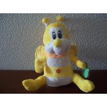 Abelha De Pelúcia Amarela E Branca - Faz Som Engraçado!