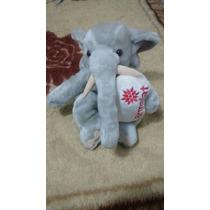 Bicho De Pelúcia Mamíferos Parmalat Elefante