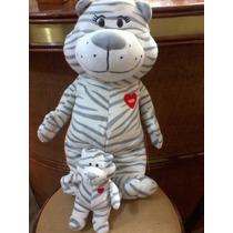 Coleção Mãe E Filho Nestlé (gata E Gatinho) Muito Fofinhos