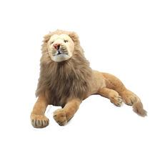 Leão Juba Médio 65 Cm Safari Bicho Pelúcia