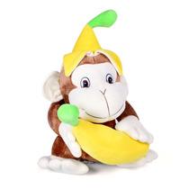 Macaco Com Banana Félix Pelúcia Grande