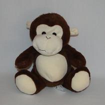 Macaco De Pelúcia 22cm Sentado