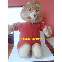 Brinquedo Antigo Urso Teddy Ruspin Tec Toy Conta História