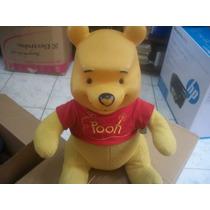 Urso Pooh Cabeça De Borracha E Corpo De Pano (disney)