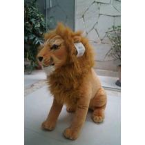 Safari Kit Onça + Tigre + Leao + Pantera + Girafa