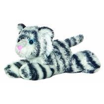 Peluches Tiger - Aurora Shazam Branco 20cm Mini Flopsie Cria