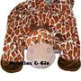 Tapete De Pelúcia - Girafa