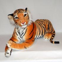 Tigre De Pelúcia Real - Safari - 90cm