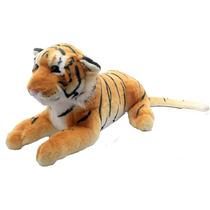 Tigre Pelucia Pq. Extra Macio Safari Zoológico