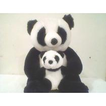 Pelúcia Panda Com Filhote - Di*