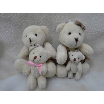 Família Mini Urso Pelúcia