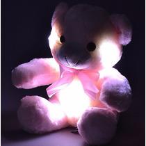Ursinho De Pelúcia Minha Luz Rosa Com Led Buba Toys Display