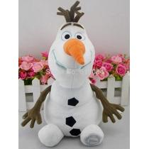 Boneco Olaf Frozen Pelúcia Disney Licenciado E Original