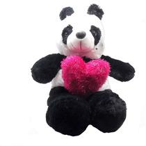 Urso Panda Apaixonado Bicho Pelucia Namorados Presente Rosa