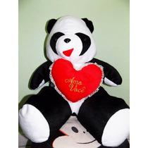Urso Panda Grande 60cm De Altura