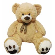 Urso De Pelúcia Gigante -110 Cm Em Pé - Creme -fe1303