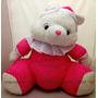 Mega Promoção! Urso De Pelúcia Pepito Rosa Gigante 65cm