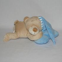 Urso De Pelúcia Soneca Dorminhoco - Azul