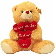 Urso De Pelúcia Meu Tudo +certificado De Melhor Namorado (a)