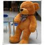 Urso De Pelúcia Grande Gigante Caramelo 120cm+enchimento