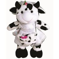 Vaca Noiva - Plush - Pelúcia - Ursinhos