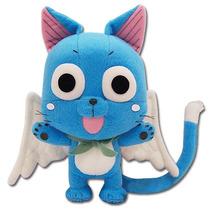 Fairy Tail Pelúcia Original Happy Importado Ge Animation