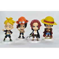 One Piece - Luffy, Ace, Shanks E Marco