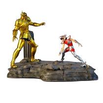 Seiya Vs Aldebaran - Diorama - Iron - Cavaleiros Do Zodiaco