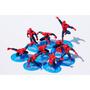 Coleção Homem Aranha Kit Completo - 9 Bonecos