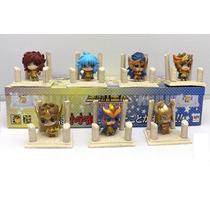 Coleção Cavaleiros Dos Zodíaco Box C/ 7 Série Ouro Cdz