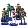 5 Bonecos Cavaleiros Do Zodiaco - Saint Seiya Figures 11 Cm