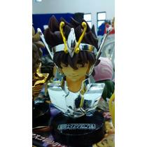 Cavaleiros Do Zodíaco Seiya De Pégaso Busto Bandai Mask Cdz