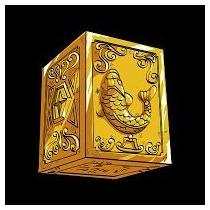Urna(caixa)armadura Peixes Afrodite Cavaleiros Zodíaco