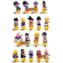 103 Bonecos Miniaturas Dragon Ball, Naruto, Final Fantasy!