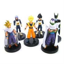 6 Bonecos Dragon Ball - Action Figures Goku Especial Ed