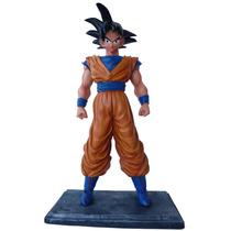 Boneco Goku Dragon Ball Z - Estátua Em Resina