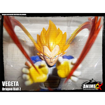 Vegeta Super Saiyajin - Dragon Ball Z - Estatueta Decorativa