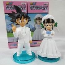 Goku E Chichi Casamento Original Dragon Ball Z Caixa Lacrada