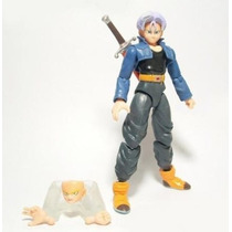 Trunks Dragon Ball Z Boneco Totalmente Articulado