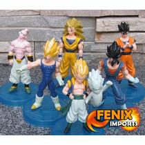 Kit 6 Dragon Figures Dragon Ball Z Saiyajin Goku Yamcha Boo