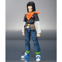 Dragon Ball Z - Android 17 -figuarts Bandai - Pronta Entrega