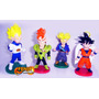 Bonecos Dragon Ball Z 4 Bonecos Goku Trunks Vegeta Andróide