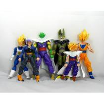 Bonecos Dragon Ball Z Vegeta Trunks Goku Gohan Cell Piccolo