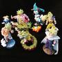 Kit 7 Bonecos Dragon Ball Figures Goku Raridade