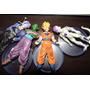 4x Bonecos Do Anime Dragon Ball Z - Pvc - Pronta Entrega