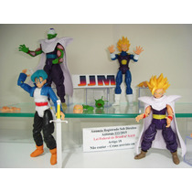 Kit Dragon Ball Z Kai 4 Bonecos Gohan Picollo Vegeta Trunks
