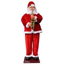 Boneco Papai Noel Dança E Canta Em Português 1,80mt R$980,00