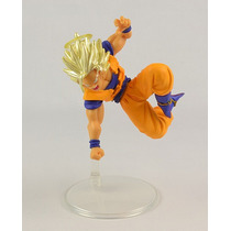 Boneco Gashapon Dragon Ball- Goku Ssj 2 Aureola