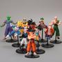 Coleção Dragon Ball 10 Peças - Goku Trunks Gohan