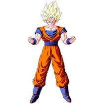 Dragon Ball Z Game Boneco Totalmente Articulado Son Goku